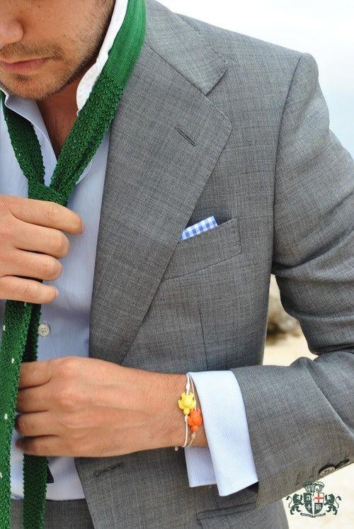 silver takım elbise erkek